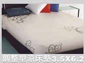 博士健康調整型活床墊.全球唯一可調整的涼床墊.加大單人【名流寢飾家居館】
