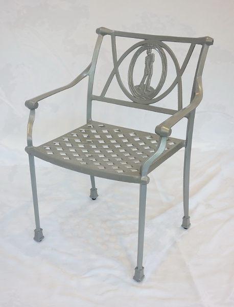 【南洋風休閒傢俱】戶外休閒桌椅系列- 鋁合金高爾夫扶手椅 戶外休閒餐椅(#20304)
