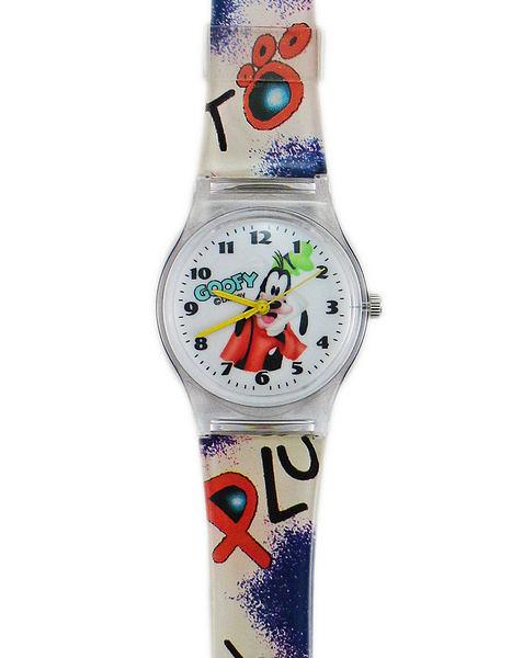【卡漫城】 高飛狗 手錶 L ㊣版 Goofy 女錶 卡通錶 兒童錶 塑膠錶 男錶 中性錶