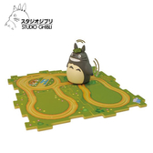 【日本正版】龍貓 拼圖軌道組 軌道地圖 拼圖軌道車 玩具 豆豆龍 宮崎駿 吉卜力 ENSKY - 418502