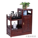 餐邊櫃 實木中式餐邊柜 廚房儲物收納柜碗柜酒柜茶柜客廳玄關 仿古茶水柜 快速出貨