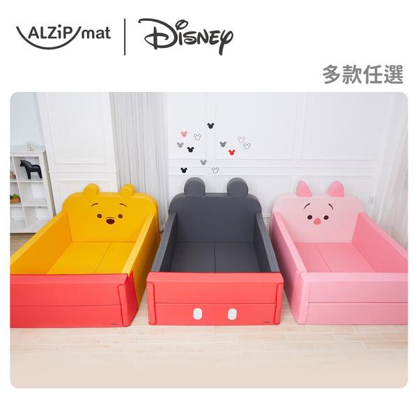 ALZiPmat & DISNEY 迪士尼 輕傢俬系列 多功能圍欄地墊/沙發床-多款任選(米奇/維尼/小豬)
