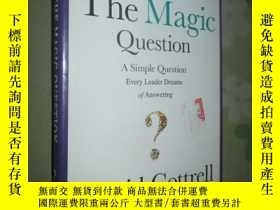 二手書博民逛書店The罕見Magic Question: A Simple Qu