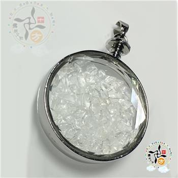 圓滿水晶能量寶瓶 4*1.2*5.2公分【十方佛教文物】