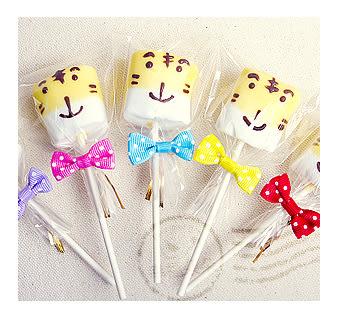 幸福朵朵【小朋友生日會分享-手作巧克力棉花糖x50支(最多可選5款造型)】禮贈品/婚禮小物