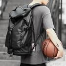 雙肩包男士防盜多功能輕便手提健身包超大容量旅行包行李防水背包 依凡卡時尚