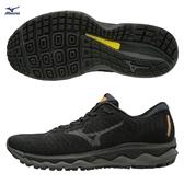 MIZUNO WAVE SKY WAVEKNIT 3 男鞋 慢跑 路跑 輕量 彈力 柔軟 耐磨 黑【運動世界】J1GC192551
