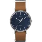 TIMEX 天美時 (TXT2P97800) Fairfield 時尚 手錶 /藍41mm