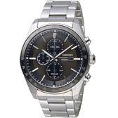 精工SEIKO潮流時尚太陽能計時腕錶 V176-0AZ0D SSC725P1