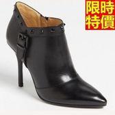短靴 高跟女靴子-簡單精緻典型休閒休閒4款66c19[巴黎精品]