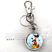 迪士尼 Disney 米老鼠 米奇 小懷錶 吊飾 鑰匙圈 數字懷錶 日本機芯 卡通 PW米奇B