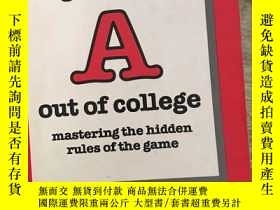 二手書博民逛書店Get罕見Your a Out of College: Mast
