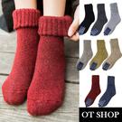 [現貨] 加厚 長襪 保暖襪 襪子 羊毛材質 復古 文青 禦寒保暖配件 多色 M1019