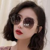 太陽眼鏡女時尚款偏光防紫外線網紅氣質同款韓版墨鏡大臉顯瘦