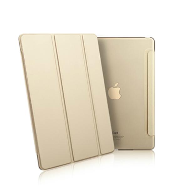 Apple iPad Pro 12.9吋三折絲紋折疊皮套