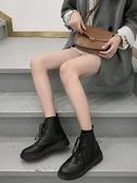 秋冬季馬丁靴女加絨學生黑色短靴女英倫風機車靴百搭復古潮鞋