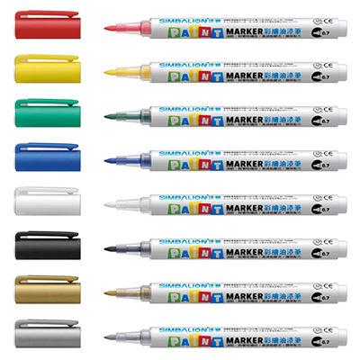 雄獅彩繪油漆筆 - 0.7mm
