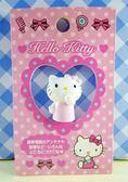 【震撼精品百貨】Hello Kitty 凱蒂貓~KITTY貼紙-天線頭-粉嗚嘴