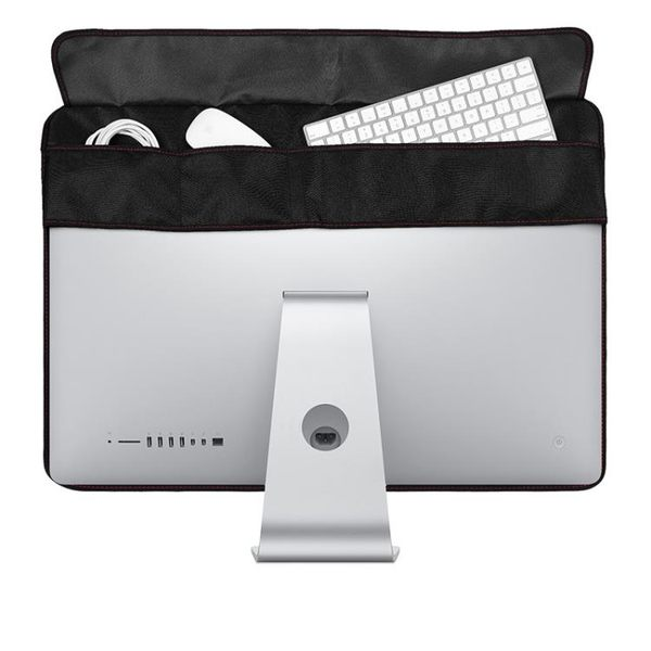 21.5/27寸蘋果一體機電腦顯示屏絨布防塵罩imac屏幕保護套收納袋 星河