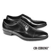 【CR CERINI】歐風橫飾牛津紳士鞋 黑色(91151-BL)