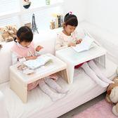 1111購物節-折疊學習桌寫字桌 韓國進口折疊電腦桌床上用寶寶學習兒童寫字桌ZMD