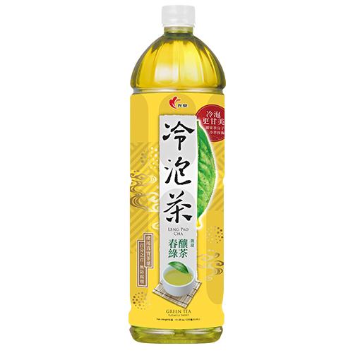 光泉冷泡茶-春釀綠茶(微甜)1235ml【愛買】