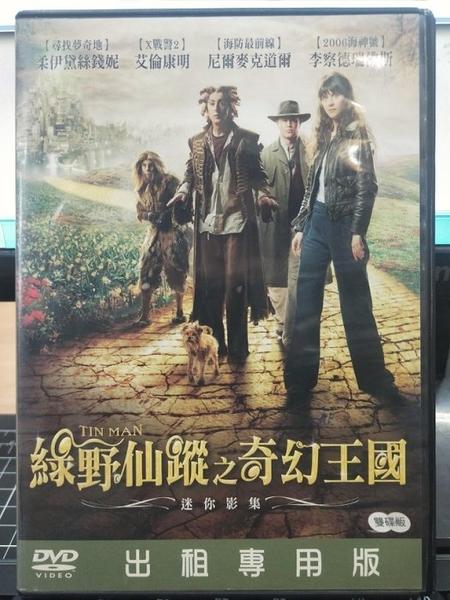 挖寶二手片-R34-正版DVD-歐美影集【綠野仙蹤之奇幻王國 全2碟】-(直購價)