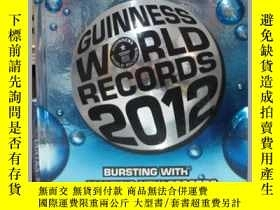 二手書博民逛書店Guinness罕見World Records 2012 吉尼斯