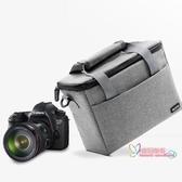 相機包 單反相機包鏡頭袋收納包男女攝影包復古便攜佳能尼康索尼sony微單數碼相機套6 2色