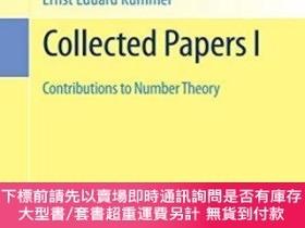 二手書博民逛書店Collected罕見Papers I: Contributions To Number TheoryY255