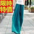 長褲寬管褲自信-時髦短版自信美麗女褲子61f6【巴黎精品】