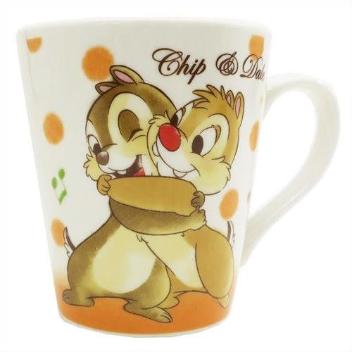 Hamee 日本正版 迪士尼 真摯友誼 好友馬克杯 陶瓷咖啡杯 禮物 (奇奇蒂蒂) CY06527