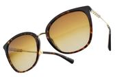 BVLGARI 偏光太陽眼鏡 BG8205KF 5193T5 (琥珀棕金-漸層棕) 奢華珍珠母貝款 偏光墨鏡 # 金橘眼鏡