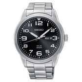 SEIKO 精工 SNE471P1(V158-0BC0D) 太陽能 男錶