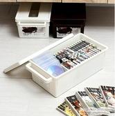 CD收納-日本進口cd收納盒 家用dvd收納碟片光盤盒漫畫專輯整理 ps4收納箱 YYS 多麗絲