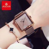 女錶簡約韓版大錶盤時尚潮流方形防水學生女士手錶 創想數位