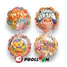 【大倫氣球】14cm 生日-自動充氣鋁箔...