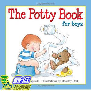 [ 美國直購 2016 暢銷書] The Potty Book: For Boys Hardcover
