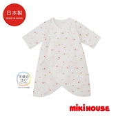 MIKI HOUSE BABY 日本製 小花新生兒蝴蝶紗布衣