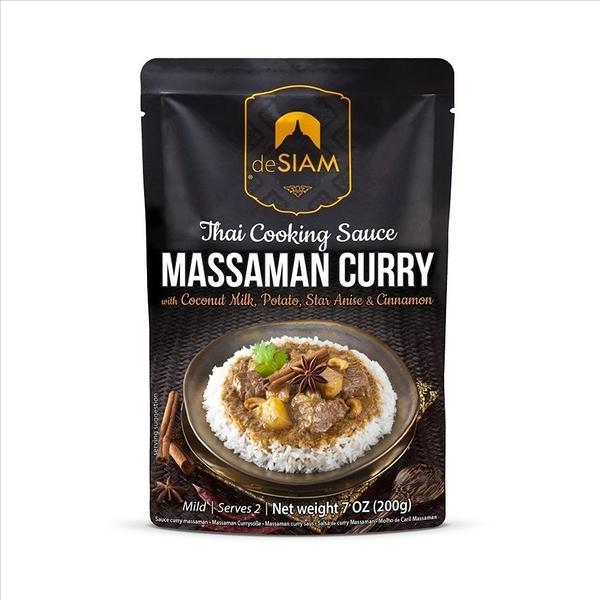 deSIAM暹羅泰式瑪斯曼咖哩醬包 Massaman Curry Sauce 200g