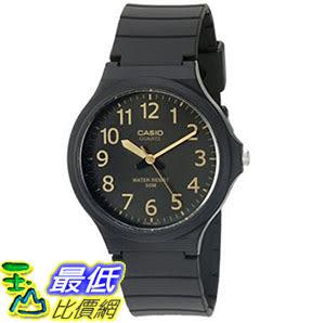[美國直購] 手錶 Casio Mens Easy To Read Quartz Black Casual Watch (Model: MW240-1B2V)