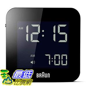 [8美國直購] Braun BNC008BK 時鐘 / 鬧鐘 LCD Quartz Alarm Clock