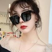太陽眼鏡 個性大框偏光墨鏡個性百搭開車男女駕駛方框太陽鏡韓版潮圓臉眼鏡 生活主義