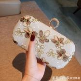 2019名媛旗袍包包復古花朵晚宴包迷你手拿包手抓包閃鉆禮服包小包