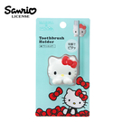 【日本正版】MARNA x 凱蒂貓 吸盤式 牙刷架 牙刷固定架 牙刷收納架 造型牙刷架 Hello Kitty - 363316