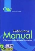 [2美國直購] Publication Manual of the American Psychological Association, 6th Edition
