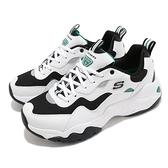 Skechers 休閒鞋 D Lites 3.0 Catch A Vibe 白 黑 男鞋 運動鞋 【ACS】 888004WGRN