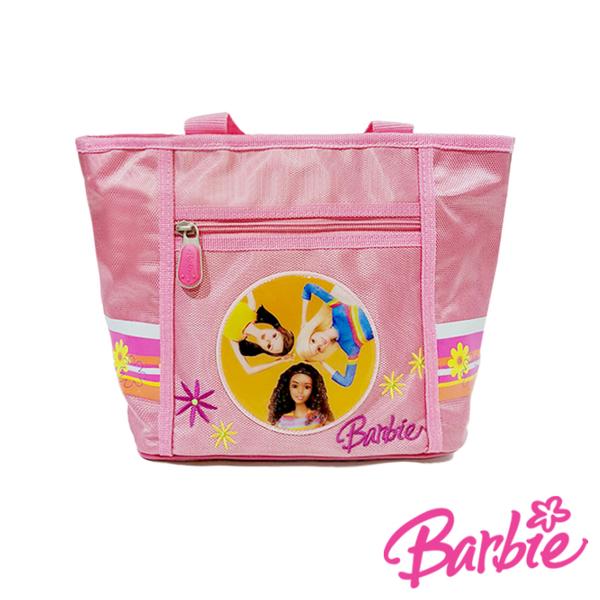 背包族【Barbie芭比】手提袋/ 購物袋/ 便當袋(粉紅色)
