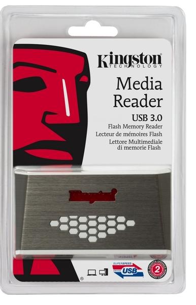 KINGSTON 金士頓 USB3.0【FCR-HS4】FCR HS4 可讀 micro SD SDHC SDXC CF M2 高速多合一 多功能讀卡機