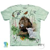 【摩達客】(預購)美國進口The Mountain 獅子與羊 純棉環保短袖T恤(YTM104175754150)